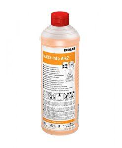 Maxx Into Alk2, Ecolab, миття санвузлів, миття мармуру