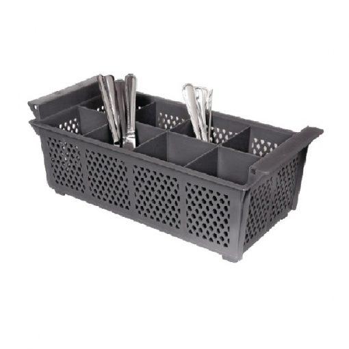 Корзина для миття приборів на 8 секцій