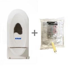 Комплект дозатор для антисептика Ecolab Wave Dispanser + антисептик Ecolab Actigel 800мл