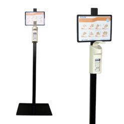 Стійка для дезінфекції рук з ліктьовим дозатором Dermados 500мл Ecolab