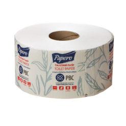 Папір туалетний двохшаровий Джамбо 90м, Papero